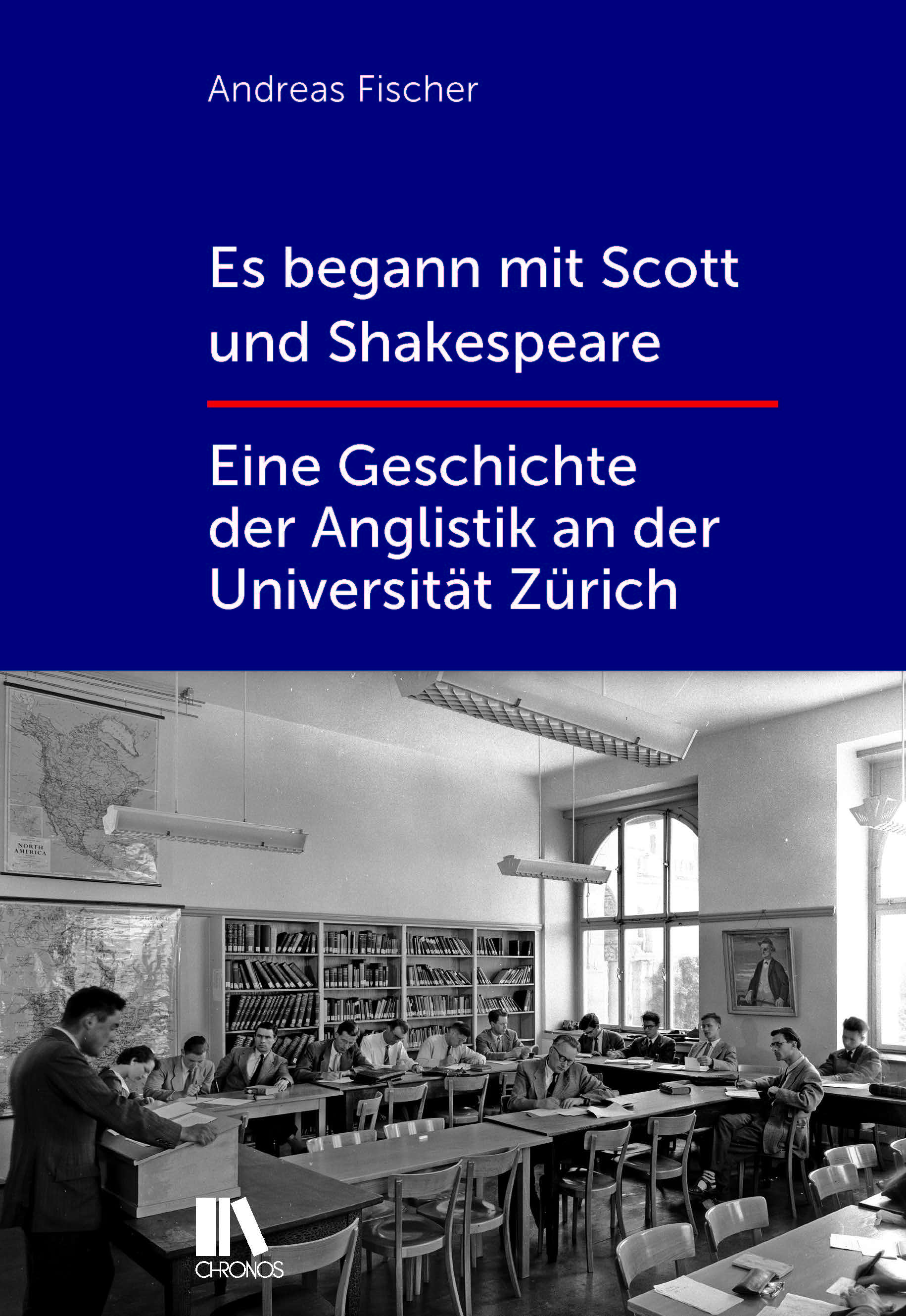 History of English Studies in Zurich: Book Cover